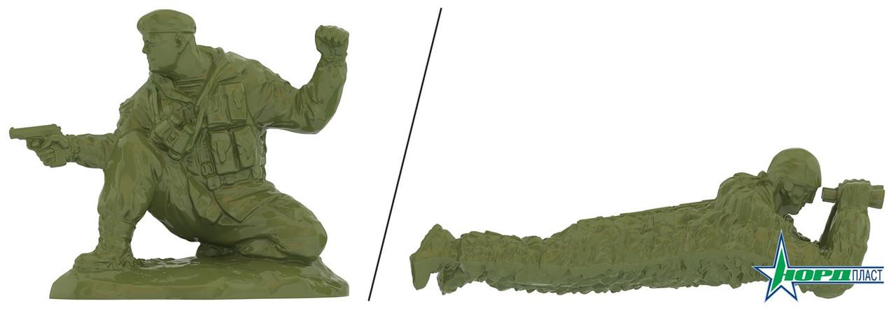 Солдаты ВДВ России (1 шт. в пакете: командир или наблюдатель с биноклем в ассорт.) 314
