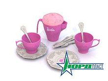 Набор чайной посудки БАРБИ (12 предм. в сетке) 638