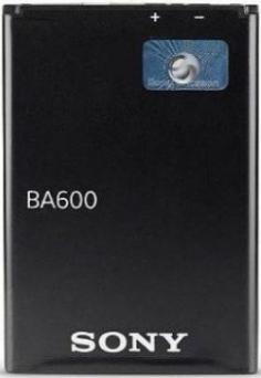 Заводской аккумулятор для Sony Xperia U ST25i (BA600, 1750mAh)
