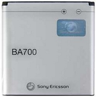 Заводской аккумулятор для Sony Xperia Ray ST18i (BA700, 1500mAh)