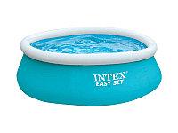 Бассейн надувной 183х51 см, V-886л, Intex Easy Set 28101