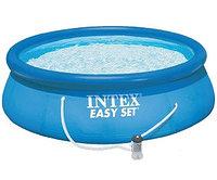 Бассейн надувной 366х76 см, V-5621л, Intex Easy Set 28132 фильтр в комплекте , фото 1