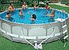 Бассейн каркасный 488х122 см, V-19156л, Intex Ultra Frame 28322 фильтр, лестница в комплекте