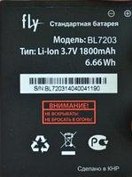 Заводской аккумулятор для Fly IQ4405 (BL7203, 1800 mah)
