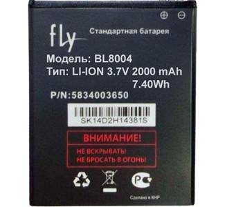 Заводской аккумулятор для Fly IQ4503 Quad ERA Life 6 (BL8004, 2000 mah)