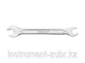Рожковый гаечный ключ 10 x 12 мм, ЗУБР