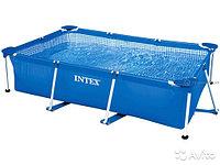 Бассейн каркасный 300х200х75см, V-3834л, Intex Small Frame Pool 28272/58981