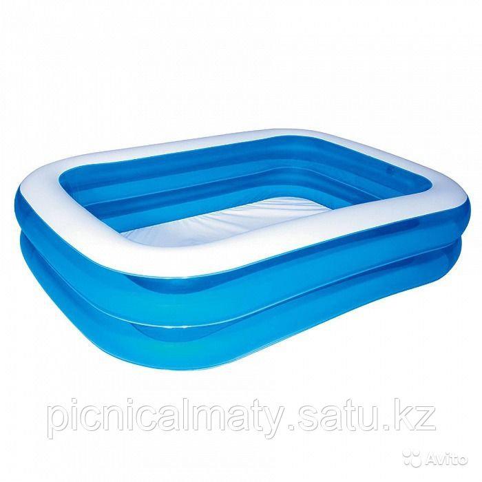 Надувной бассейн Bestway 54006 прямоугольный