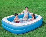 Надувной бассейн Bestway 54006 прямоугольный, фото 3