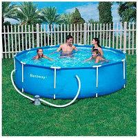 Каркасный бассейн с фильтр-насосом 56408