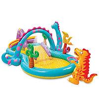 Надувной детский игровой центр-бассейн  333х229х112 см, V-280л, Intex 57135, фото 1