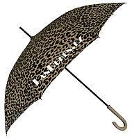 Женский Зонт трость Леопардовый (бежевый)