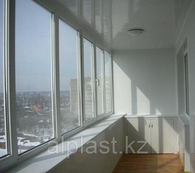 Металлопластиковые балконы (пластиковые, ПВХ) - фото 2