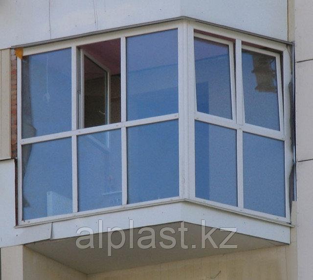 Металлопластиковые балконы (пластиковые, ПВХ) - фото 3