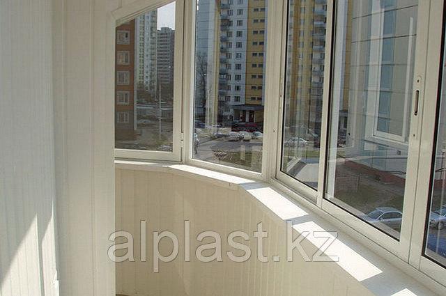 Металлопластиковые балконы (пластиковые, ПВХ) - фото 4