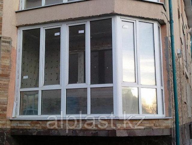 Металлопластиковые балконы (пластиковые, ПВХ) - фото 5