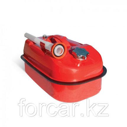 Горизонтальная стальная канистра Автопрофи 10 литров, фото 2