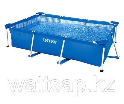 Бассейн каркасный 260х160х65см, V-2282л, Intex Small Frame Pool 28271