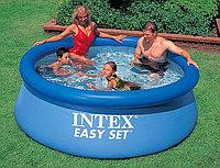 Бассейн надувной 244х76 см, V-2400л, Intex Easy Set 28110