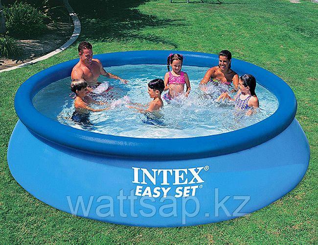 Бассейн надувной 366х76 см, V-5621л, Intex Easy Set 28130