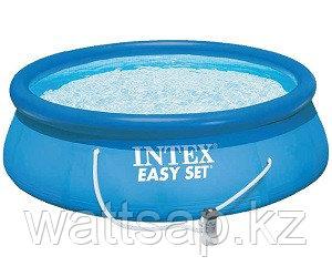 Бассейн надувной 366х76 см, V-5621л, Intex Easy Set 28132 фильтр в комплекте
