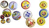 Значки, медали, бейджи на заказ в Алматы. Цена указана минимальная на тираж, фото 3