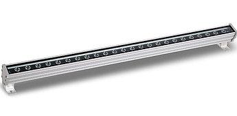 Архитектурный светодиодный линейный светильник 24W, 1 метр, 2700К, 4000К, 6000К фасадный, уличный,.