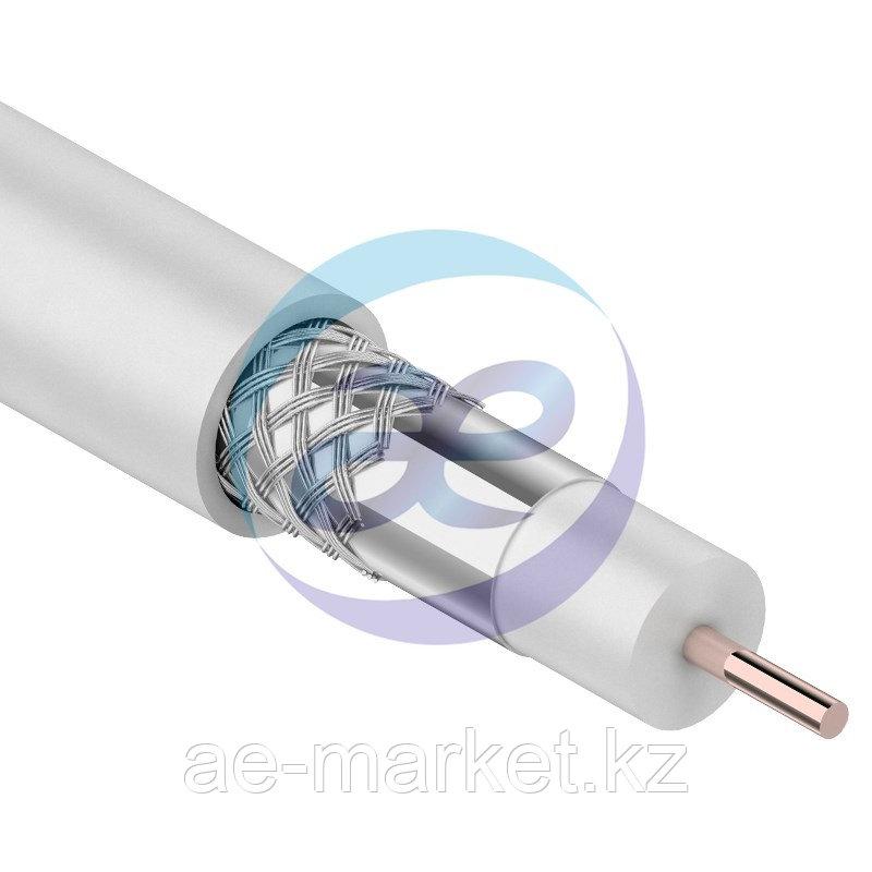 Кабель RG-6U, (48%), 75 Ом, 100м., белый  PROCONNECT