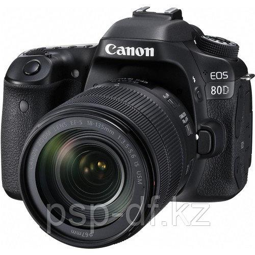 Фотоаппарат Canon EOS 80D kit 18-135mm f/3.5-5.6 IS USM гарантия 1 год