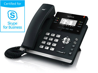 IP телефон Yealink SIP-T41P Skype for Business Edition