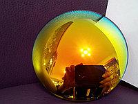 Линза полимерная золотистая с зеркальным покрытием