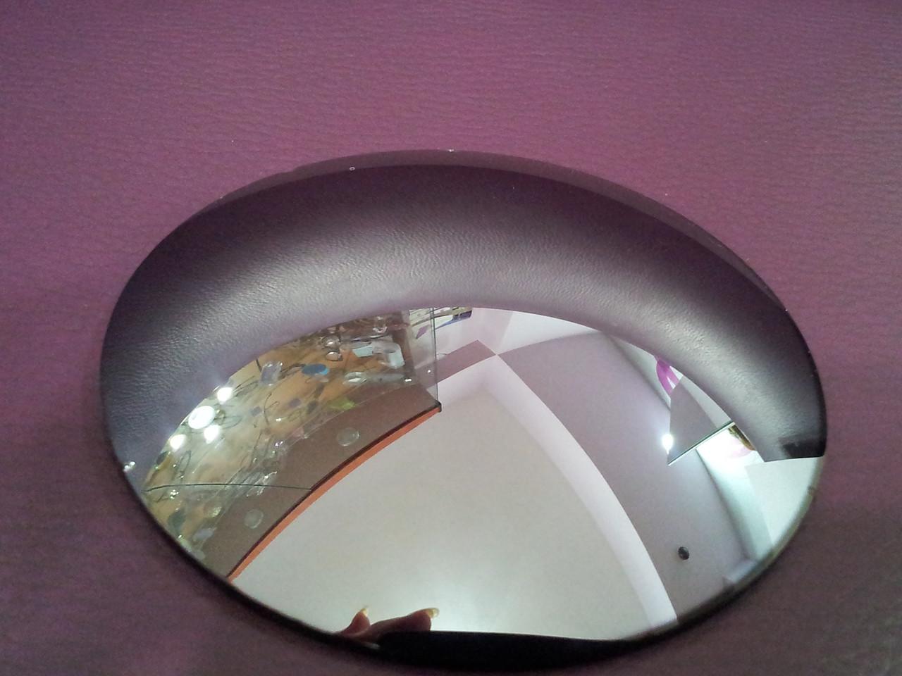 Линза полимерная серебристая с зеркальным покрытием - фото 1