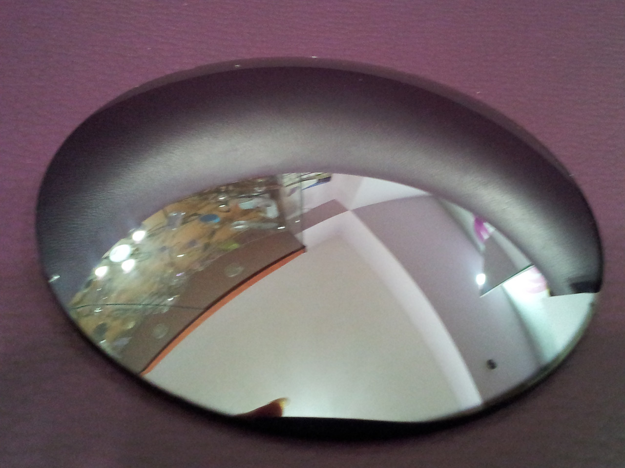 Линза полимерная серебристая с зеркальным покрытием - фото 2
