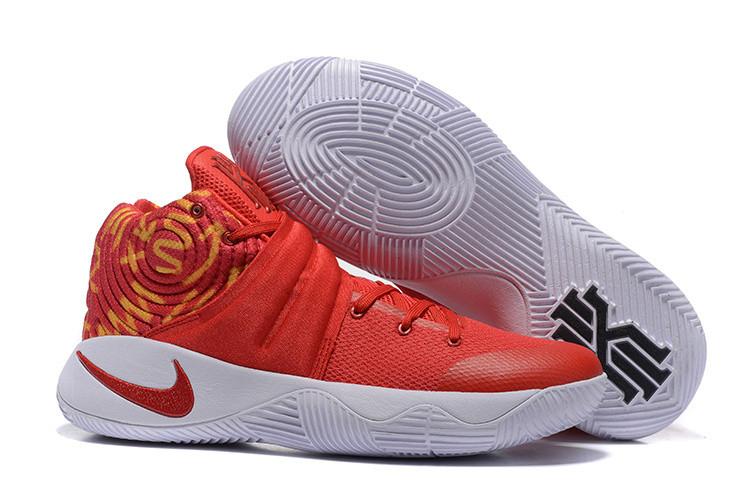 Баскетбольные кроссовки Nike Kyrie II (2) for Kyrie Irving красные