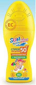 SUN MARINA KIDS спрей для безопасного загара SPF-50