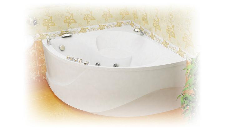 Акриловая ванна Эрика  (1400*1400*640) , фото 2