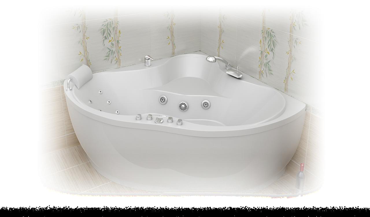 Акриловая ванна Медея  (1420x420x635)