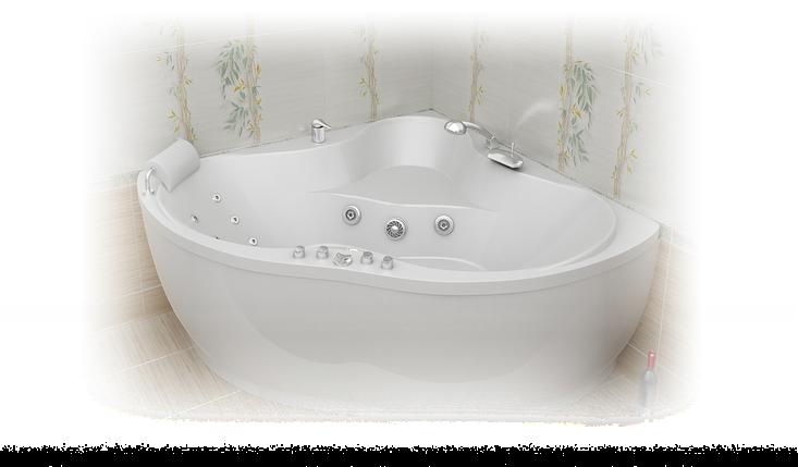 Акриловая ванна Медея  (1420x420x635) , фото 2