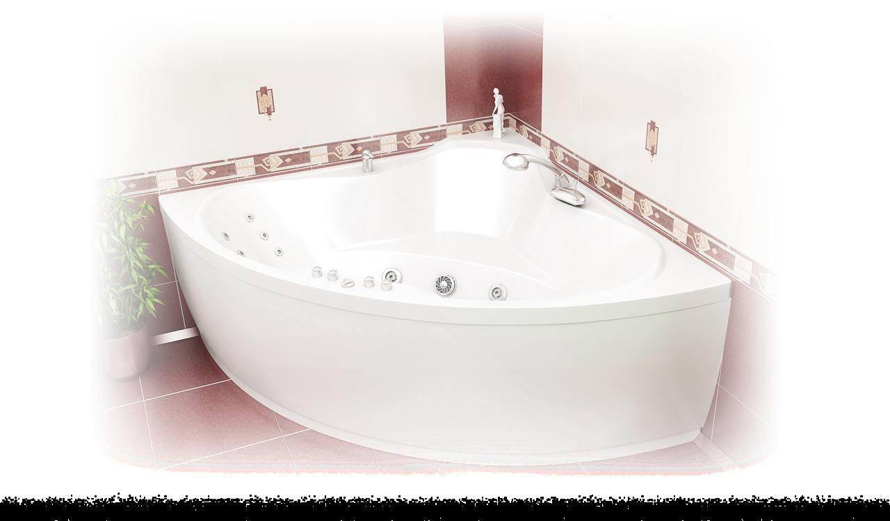Акриловая ванна Троя  (1500*1500*650)