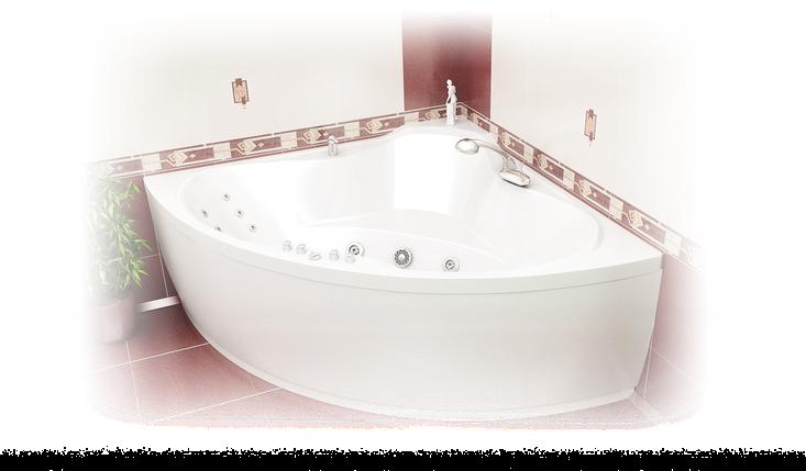 Акриловая ванна Троя  (1500*1500*650) , фото 2