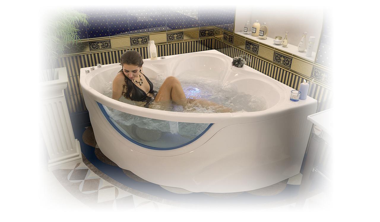 Акриловая ванна Виктория  (1500*1500*670)