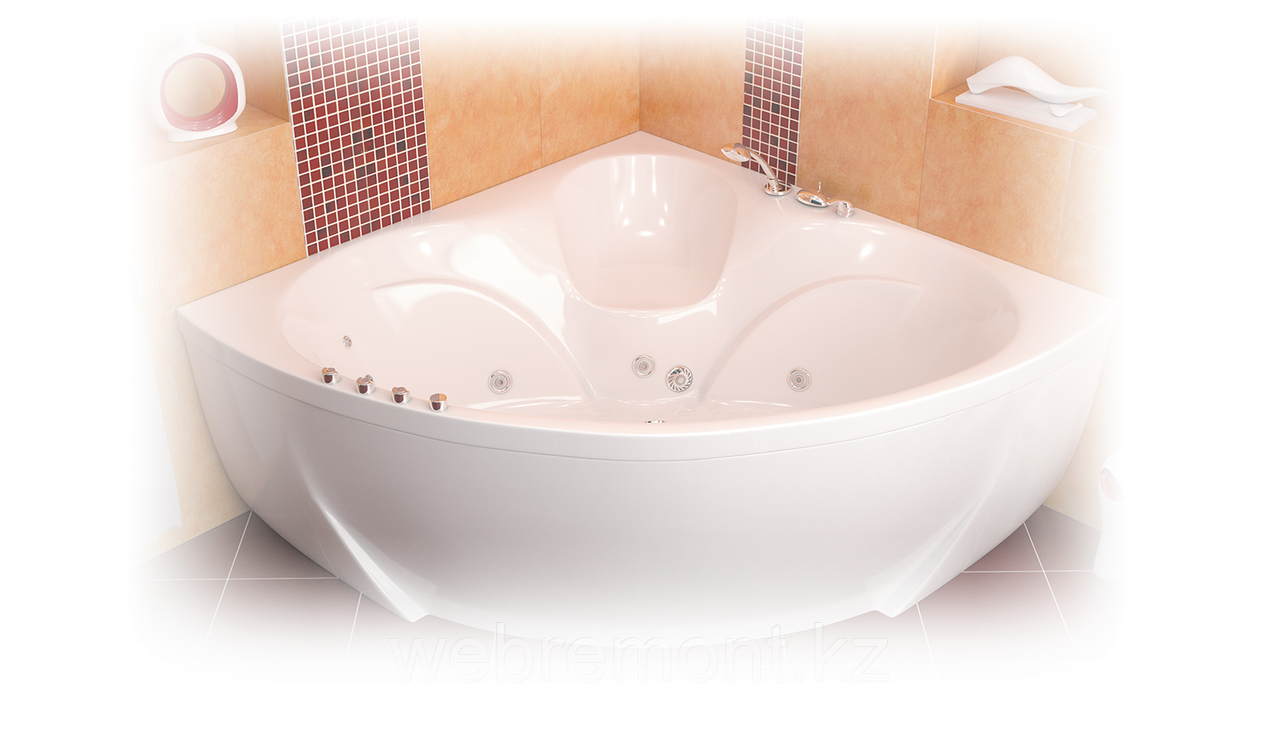 Акриловая ванна Сабина  (1600*1600*680)