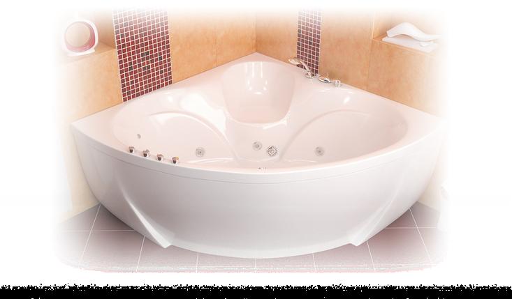 Акриловая ванна Сабина  (1600*1600*680) , фото 2