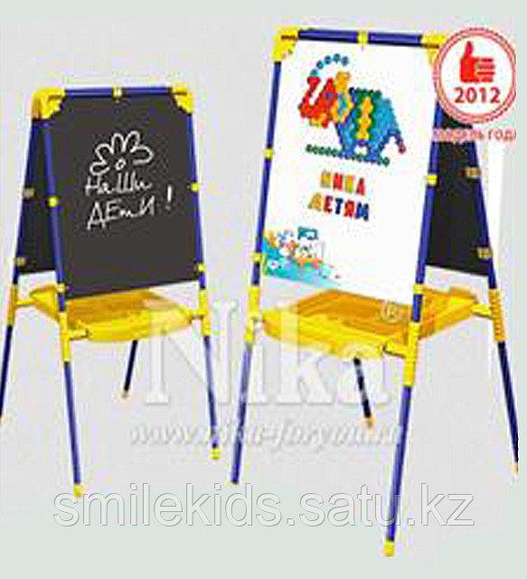 Мольберт для детей с большим пеналом арт. М1