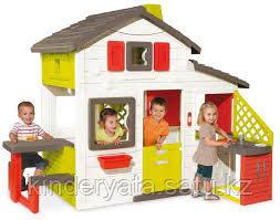 Игровой детский домик c кухней Smoby
