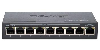 Неуправляемый коммутатор TG-NET P1009D-8PoE-60W