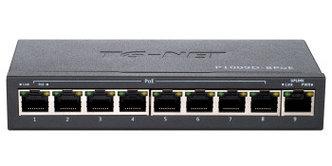 Неуправляемый коммутатор TG-NET P1009D-8PoE-120W