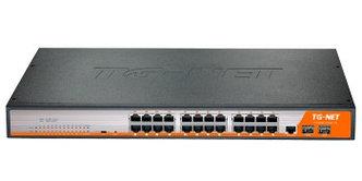 Управляемый коммутатор TG-NET P3026M-24PoE-450W-V3