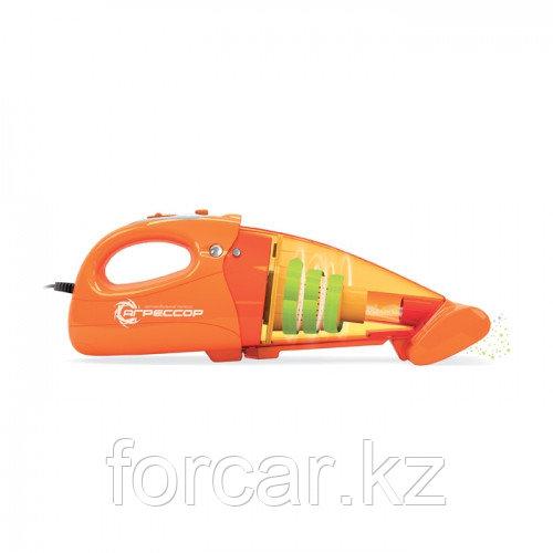 Автомобильный пылесос «Агрессор» с турбощёткой и фонарём