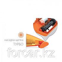 Автомобильный пылесос «Агрессор» с турбощёткой и фонарём, фото 3